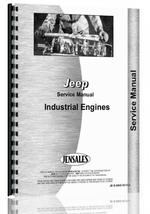 Service Manual for Jeep Jeep Industrial/Construction