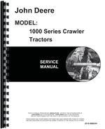 Service Manual for John Deere 1010 Crawler
