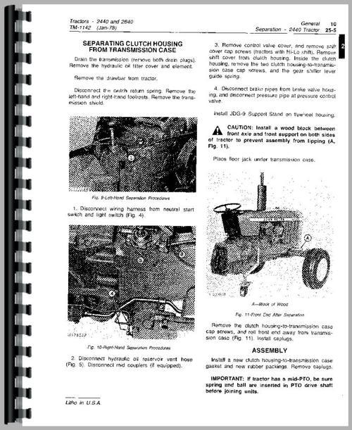 jd 2240 wiring diagram automotive wiring diagram library u2022 rh seigokanengland co uk John Deere 2240 Wiring-Diagram John Deere 2440 Repair Manual