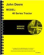 Service Manual for John Deere 40C Tractor
