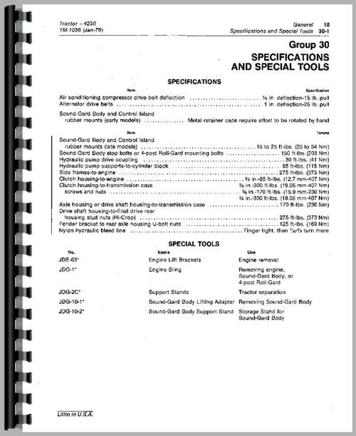 John Deere 4230 Tractor Service Manual. Service Manual For John Deere 4230 Tractor Sle Page From. John Deere. John Deere 4230 Parts Diagram Air Conditioning At Scoala.co