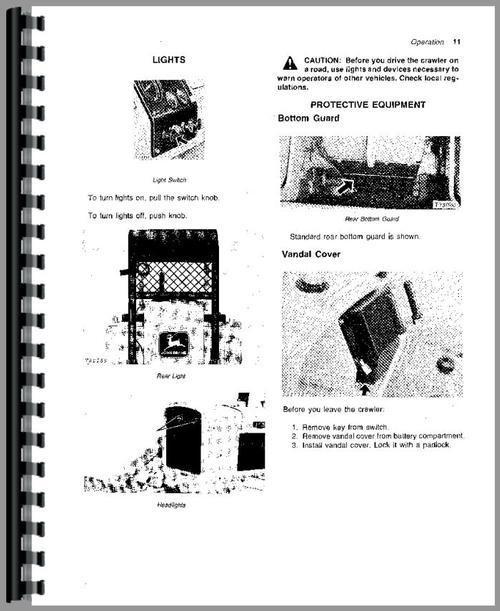 john deere 450c parts manual