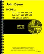 Service Manual for John Deere 468 Square Baler