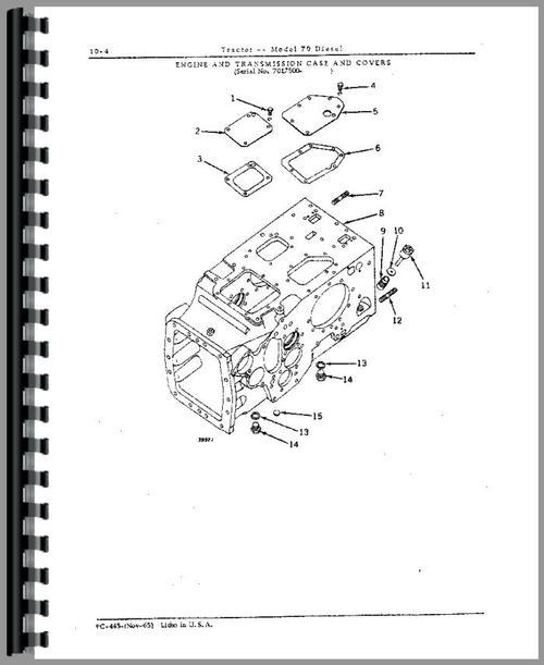 John Deere Combine Parts Diagram