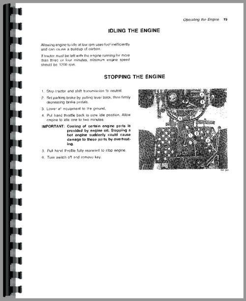 john deere 950 tractor operators manual rh themanualstore com john deere 950 tractor owner's manual John Deere LT133 Service Manual