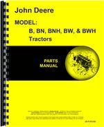 Parts Manual for John Deere B Tractor