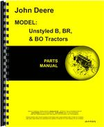Parts Manual for John Deere BW Tractor