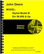 Service Manual for John Deere BW Tractor