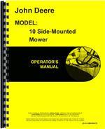 Operators Manual for John Deere 10 Mower