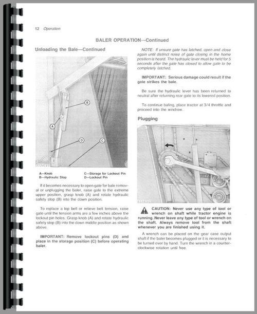 John Deere 567 Baler Manual