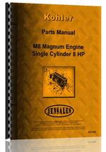 Parts Manual for Kohler M8 Lawn & Garden Tractor Engine