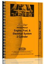 Service Manual for Kohler all Lawn & Garden Tractor 2 Cycle Engine