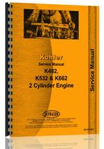 Service Manual for Kohler K-482 Engine