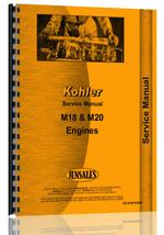 Service Manual for Kohler M18 Engine