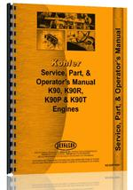 Service Manual for Kohler K-90T Lawn & Garden Tractor Engine
