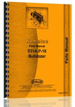 Parts Manual for Komatsu D31A Crawler