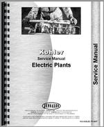 Service Manual for Kohler all 500W-115KW Electric Plant