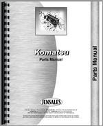 Parts Manual for Komatsu D155A-1 Crawler
