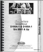 Service Manual for Komatsu D155A-1 Crawler