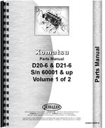 Parts Manual for Komatsu D20P-6 Crawler