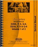Service Manual for Komatsu D21A-6 Crawler