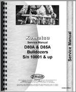 Service Manual for Komatsu D80A Crawler