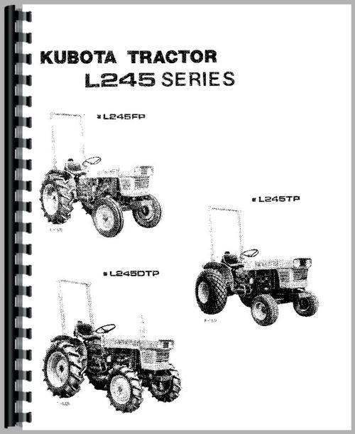 kubota l245 tractor operators manual rh themanualstore com kubota mower manual download kubota mower parts canada