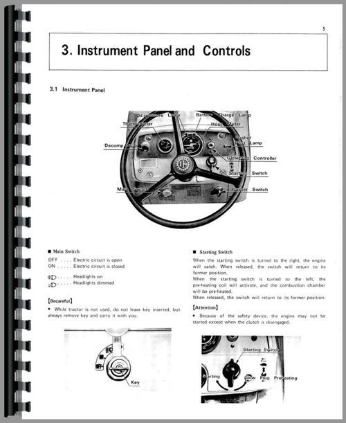 Kubota L285 Tractor Operators  U0026 Parts Manual