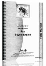 Parts Manual for Lauson Ray Engine