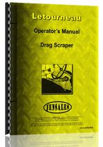 Operators Manual for Le Tourneau all Carryall & Drag