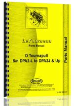 Parts Manual for Wabco D Tournapull Tractor