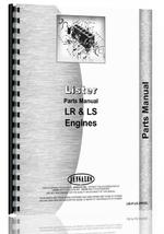 """Parts Manual for Lister LR, SR Engine"""