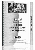 Service Manual for Leroi 160G Air Compressor