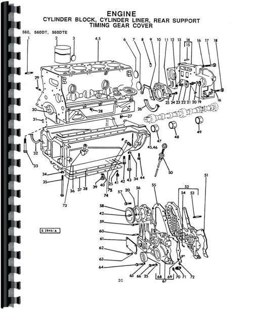 Long Backhoe Parts : Long tractor parts manual