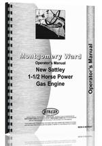 Operators Manual for M Ward New Sattley  Engine