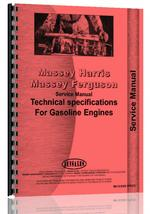 Service Manual for Massey Harris All Perkins A4.107