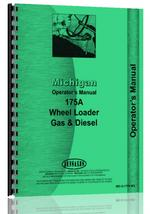 Operators Manual for Michigan 175A Wheel Loader