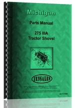 Parts Manual for Michigan 275 IIIA Wheel Loader