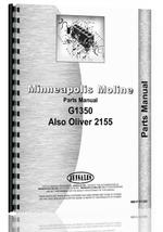 Parts Manual for White 2155 Tractor