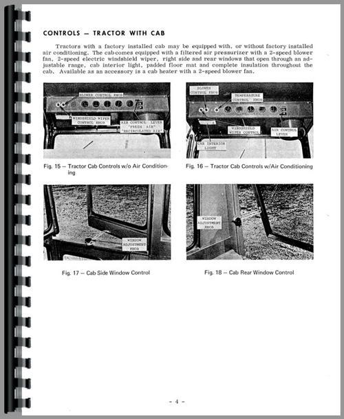 Massey Ferguson 1100 Tractor Operators Manual