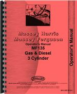 Operators Manual for Massey Ferguson 135 Tractor