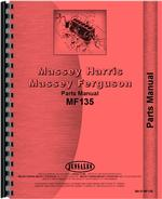 Parts Manual for Massey Ferguson 135 Tractor