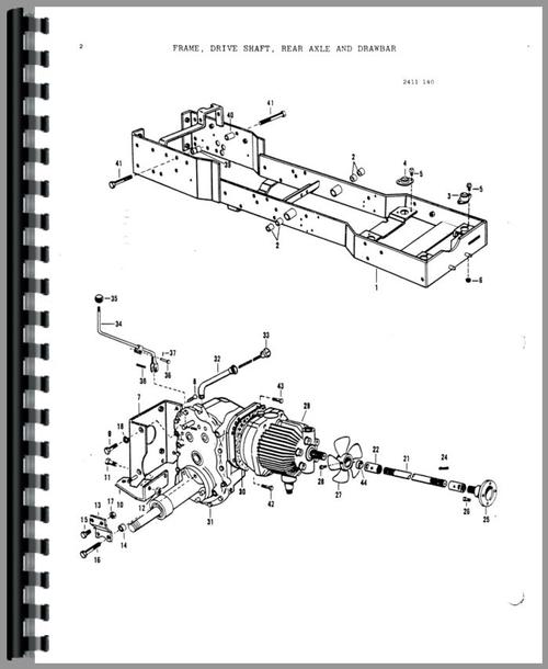 tractor parts manual user guide manual that easy to read u2022 rh sibere co 6530 Branson Tractor Parts Rear Ends for Branson Tractors