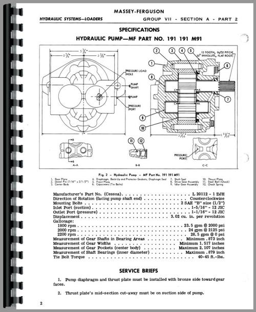 massey ferguson 175 loader attachment 100 service manual rh themanualstore com massey ferguson 165 repair manual massey ferguson 165 workshop manual