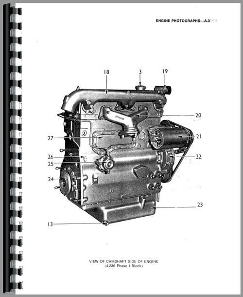 Massey Ferguson 383 Engine Service Manual