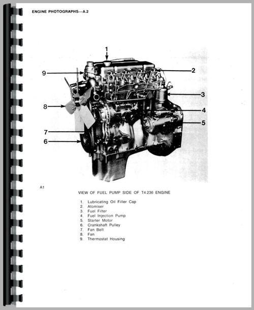 massey ferguson 394s engine service manual rh themanualstore com Massey Ferguson Shop Manual Online Massey Ferguson MF40 Industrial Shop Manual