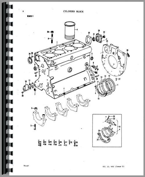 Mf 50 Parts : Massey ferguson a industrial tractor parts manual