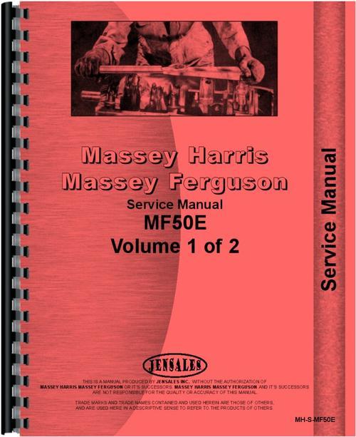 massey ferguson 50e industrial tractor service manual rh themanualstore com