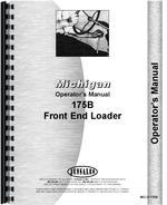 Operators Manual for Michigan 175B Wheel Loader