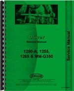 Service Manual for Minneapolis Moline G350 Tractor